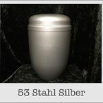 Stahl urne
