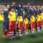 El niño que era más alto que Valbuena. JA!