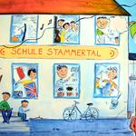 Jahres-Geburtstagskarte Schule 2014