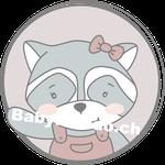 Waschbaer Mädchen emblem (Daw140978639)