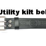 Utility kilt belt