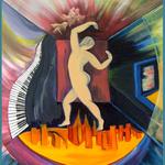 Aufersteh'n / Öl auf Leinwand / 50 x 70 cm