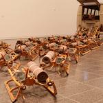 Beuys Installation für ein Kunstmagazin