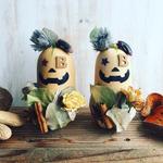 2016年 10月新宿ニュウマン ワークショップ「バターナッツかぼちゃのハロウィン飾り」