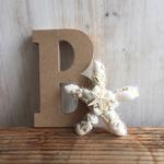 2016年 8月親子ワークショップ「ヒトデ型のミニ貝殻リース」@子供服のリッピングストア