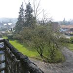 vue du balcon de la chambre 1