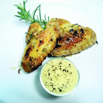 Chicken Wings mit Rosmarin-Ahornsirup