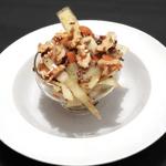 Warmer Krautsalat mit Rindfleisch & Walnüssen
