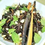 Rindfleischsalat mit lila Karotten & Paranusskernen