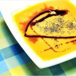 Kürbissuppe mit Zimt