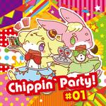 ・ああ...翡翠茶漬け様主催コンピレーションアルバム「Chippin`Party!#01」アートワーク(イラスト・デザイン)