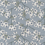 besch. Baumwolle: AU Maison - Design: Amalie - Farbe: dusty blue