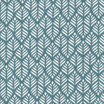 Baumwolle Au Maison - Design: Trigo - Farbe: antique green