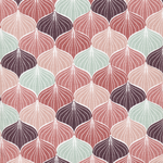 besch. Baumwolle AU Maison - Design: Alli - Farbe: canyon rose / burned rose