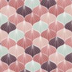 Baumwolle AU Maison - Design: Alli - Farbe: canyon rose/burned rose