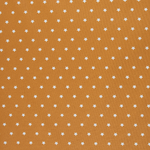 besch. Baumwolle - Meluna - Sterne DM ca. 1 cm - senfgelb