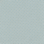Baumwolle Au Maison - Design: Belle Fleur - Farbe: ice green