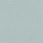 Baumwolle  Maison - Design: Belle Fleur - Farbe: ice green