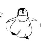 動物イラスト「ペンギン」
