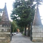 Cancello grande d'ingresso
