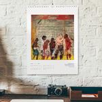 Beispielhafte Umgebung für den Kalender (Motiv Johanna Schreiner)