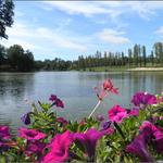 le lac de Luc à Pouillon