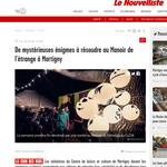 Nouvelliste / Centre de Loisirs Martigny // Photo © Nathalie Pallud