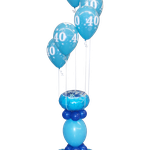 Blue 40 Happy Birthday Column € 39,90