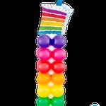 Rainbow Cake Column € 69,00
