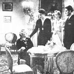 Mieczysława Ćwiklińska Irena Malkiewicz Domańska, Tamara Wiszniewska, Adam Brodzisz  w filmie U kresu drogi ( 1939)