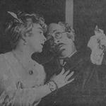 Mieczysława Ćwiklińska i Kazimierz Justian w sztuce Oj mężczyźni,mężczyźni (T,Ćwiklińskiej i Fertnera Warszawa 1926 )