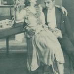 Mieczysława Ćwiklińska(Daisy) Antoni Różycki(hr.Gerard) w sztuce Ognie sztuczne T.Narodowy Warszawa (1928)