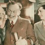 Józef Orwid, Michał Znicz,Jadwiga Smosarska w filmie Jadzia (1936)
