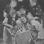 Józef Kondrat,Mieczysław Borowy,Jan Kurnakowicz,Adolf Dymsza,Feliks Chmurkowski,Józef Orwid w sztuce Sen nocy letniej (T.Polski Warszawa 1934)
