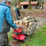 ホダ木の運搬