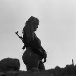 &#169Christine Spengler - Sahara Occidental. Guelta Zemmour. 1976