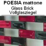 Vollglasziegel Glasziegel MATTONE POESIA Glasstein Solid Glass Brick Österreich Luxemburg Schweiz France briques de verre blocs de verre solides Danmark glas mursten faste glasblokke Nederland ne glazen stenen massieve glazen blokken Belgique