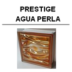 Prestige agua perla Glasbaustein glass Blocks glasstein Bormioli glasbausteine-center.de perla neutro naranja indigo amatista verde oro rojo antratica ambra polinesia caribe B-TER lineal v/h h/v curvo B-Q 19 Aqua Österreich Schweiz Belgique Suisse Nederla