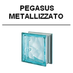 Pegasus metallizzato ital design glasbausteine-center glassteine glass blocks Glasbausteine glas blokke bouwstenen design R09 metall luxus Q19 Wave welle wolke azur neutro klar Q19 O ondular aqua Österreich Schweiz Belgique Suisse Nederland denmark dansk