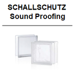 schallschutz dB Glasbausteine Glasstein Glasbausteine-center glass blocks glazen blokke bouwstenen sound proofing isolation acoustique proteccion solaris 24x24 dämmung lärm 49 47 45 noise reduction Österreich Schweiz Belgien France Nederland briques verre