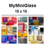 SEVES MyMiniGlass MINI MG/s 14,6x14,6x8 Q15 15x15 Glasbausteine Glass Blocks Briques verre Classic daredevil vegan sophisticated very natural romantic Österreich Schweiz France Nederland Glazen Blokken Danmark glasblokke glasbausteine-center Glasbaustein
