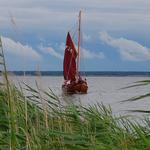 Zeesenboot auf dem Bodden