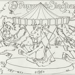 1988-03-17 PONYPARK SLAGHAREN Kleurplaat