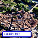 la ville ronde de Labruguiere,son centre  ancien