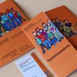 Handout und Visitenkarte einer Kinderpsychologin