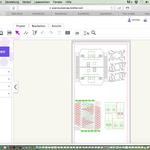 So sieht die neue Zeichnung aus. Material für zwei Häuser.