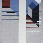 © Siegfried Schütze, Entwurf für Ausführung in Baukeramik, 1989