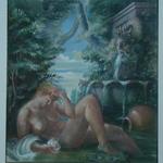 """© Siegfried Schütze 1981/82 Vorstudie """"Polidore"""""""