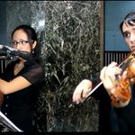 Oscar Acuña (violín) Lixi Mendoza (flauta)