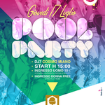Flyer realizzato per il Pool Party Rigatoni